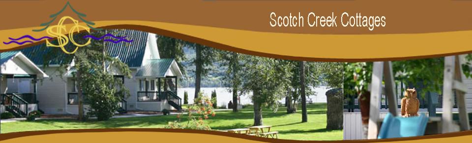 Shuswap Lake Cabin Rentals Scotch Creek Cottages