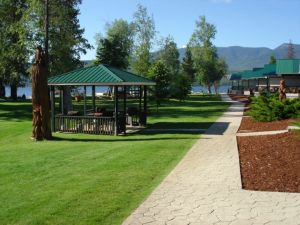 shuswap cabin rental reviews - gazebo