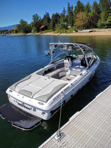 Supra Surf and Wakeboard Boat